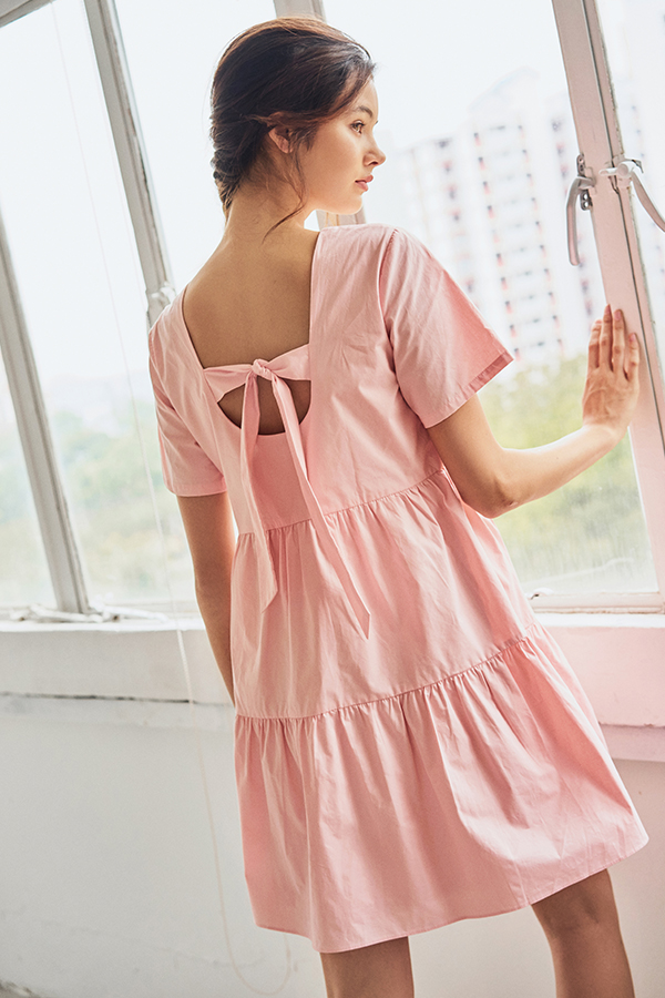 Angelia Dress in Pink