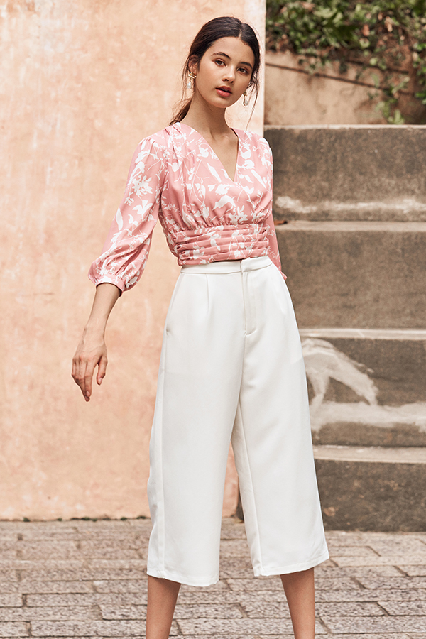 Nolla Culottes in White