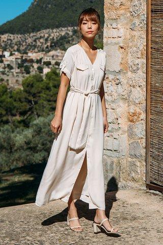 Algaida Dress in Cream