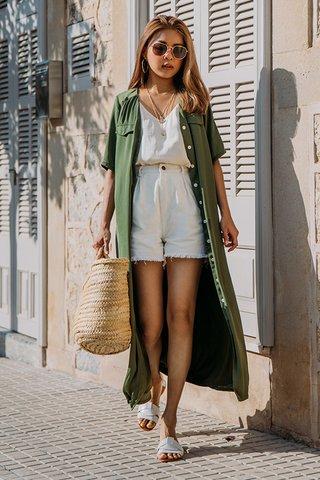 Algaida Dress in Olive