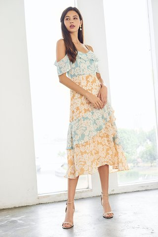 Elianna Floral Printed Dress