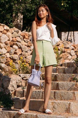Deia Shorts in Apple Green