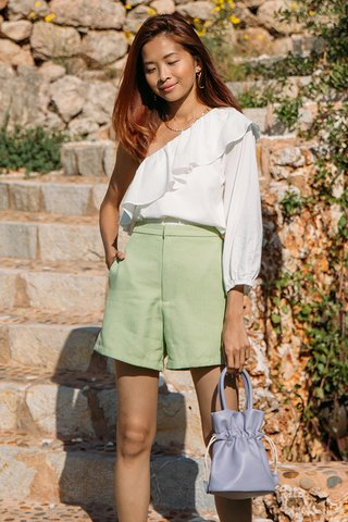 Deia Shorts in Apple Green