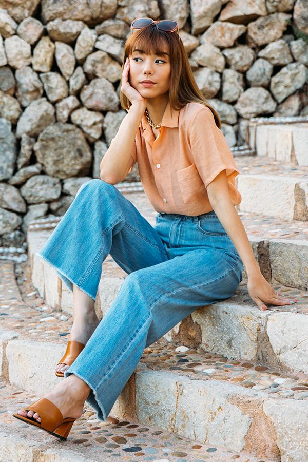 *Backorder* Blanca Jeans in Light Wash