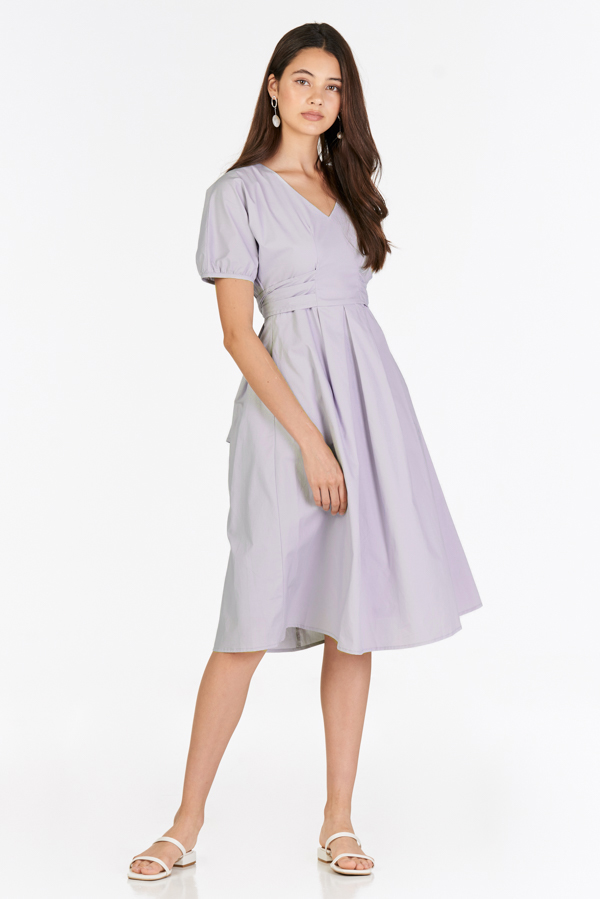 Irena Dress in Lilac