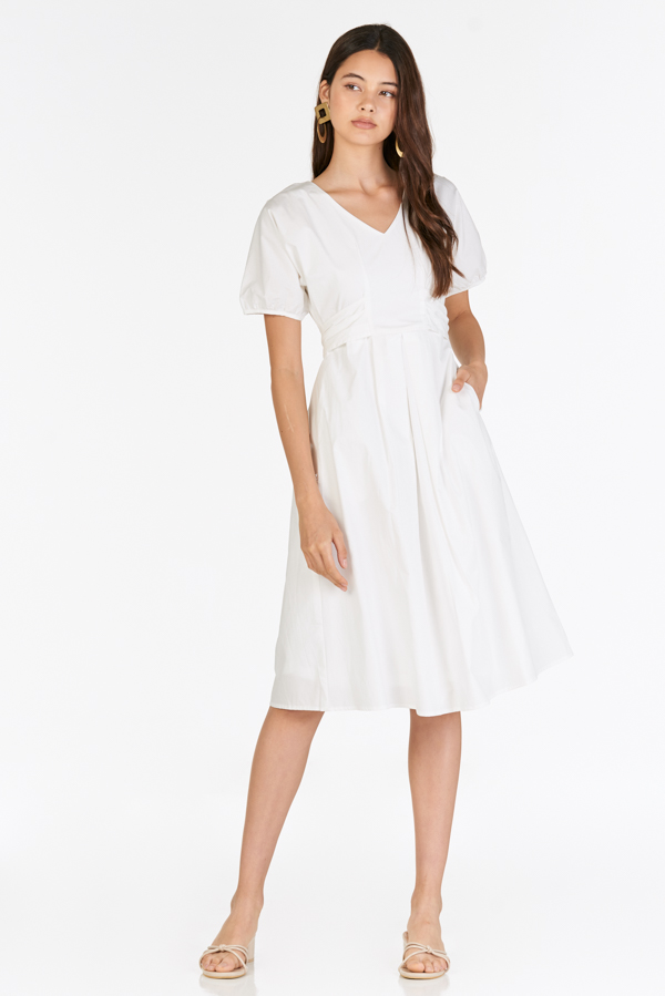 Irena Dress in White