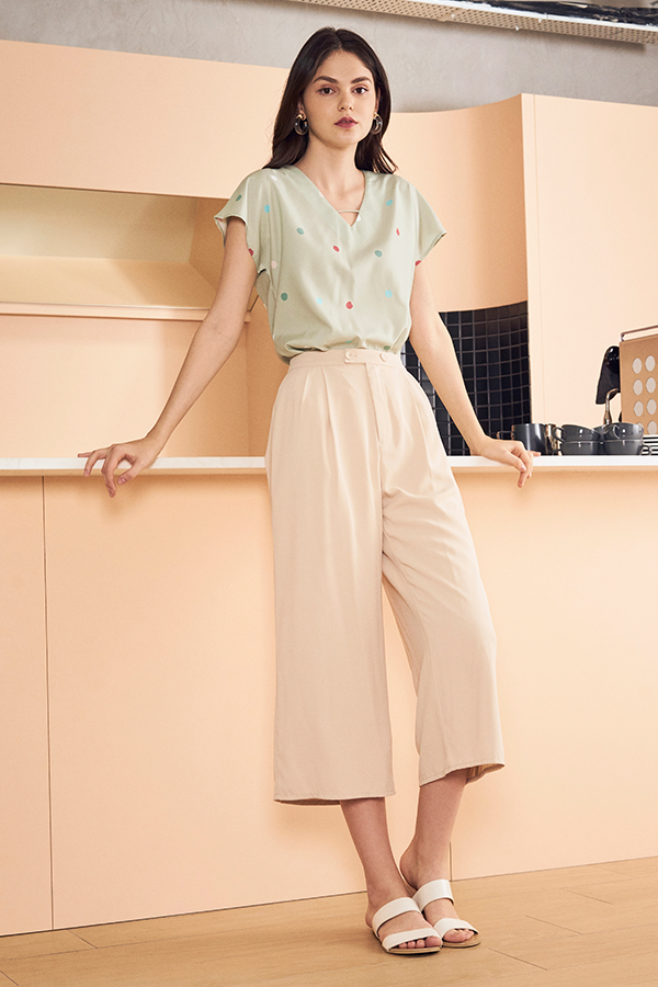 Denali Culottes in Cream
