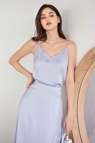 Calia Satin Two Way Top in Lilac
