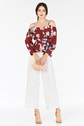 Adah Top in Wine