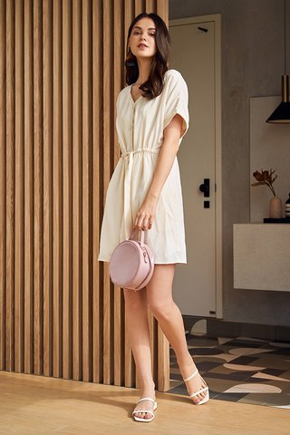 Agacia Dress in Cream
