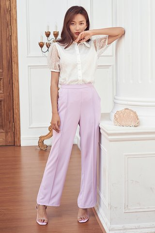 *Restock* Dana Pants in Lilac