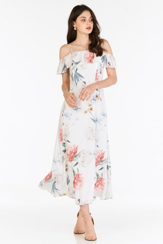 Kyras Maxi Dress in White