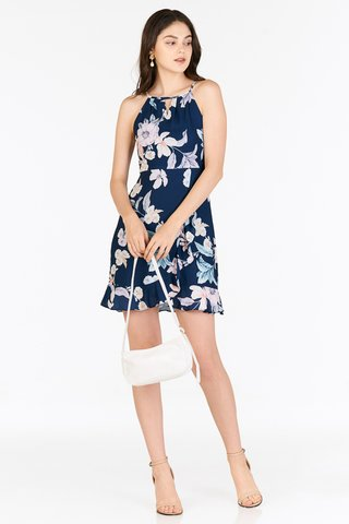 *Restock* Adah Dress in Navy