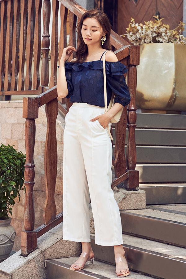 Baylene Pants in White