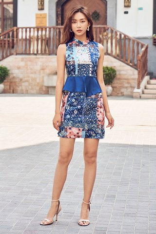 Aliya Peplum Dress