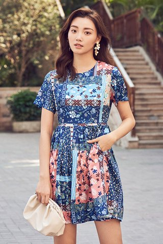 Aliya Sleeved Dress