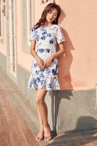 Marielle Eyelet Trim Dress