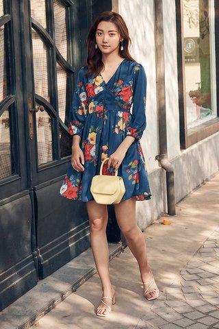 Miyah Dress in Blue