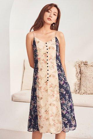 Kayleigh Colourblock Slip Dress