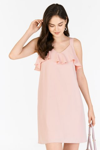Kadence Two Way Dress in Powder Pink