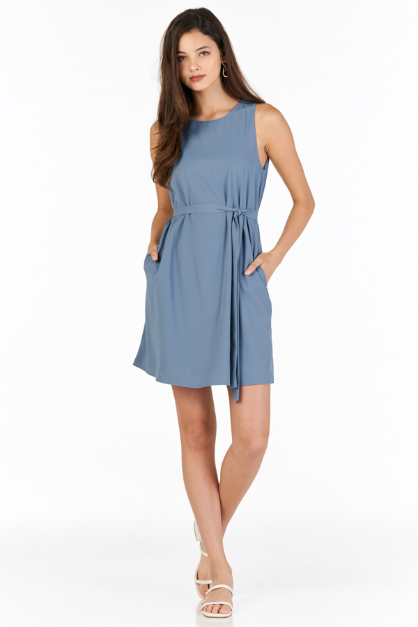 Baeley Dress in Periwinkle