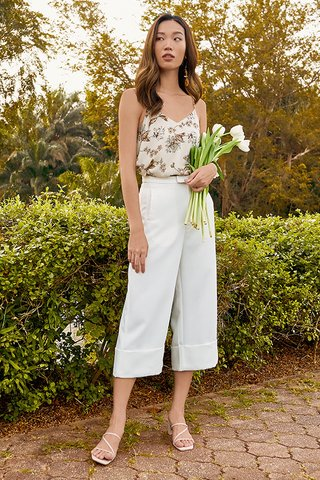 *Restock* Fort Culottes in White
