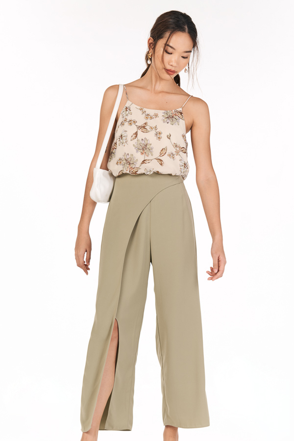 Ivanna Pants in Sage Green