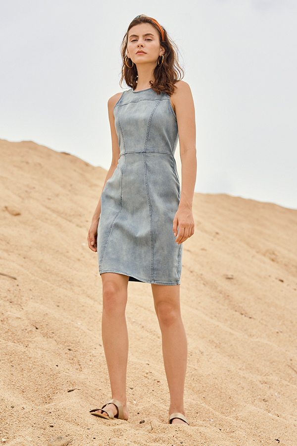 Maeven Denim Dress