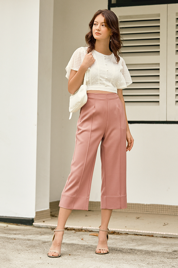 Carys Culottes in Pink