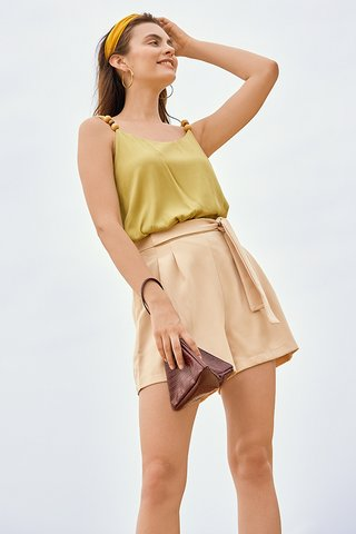 Orlaith Shorts in Khaki