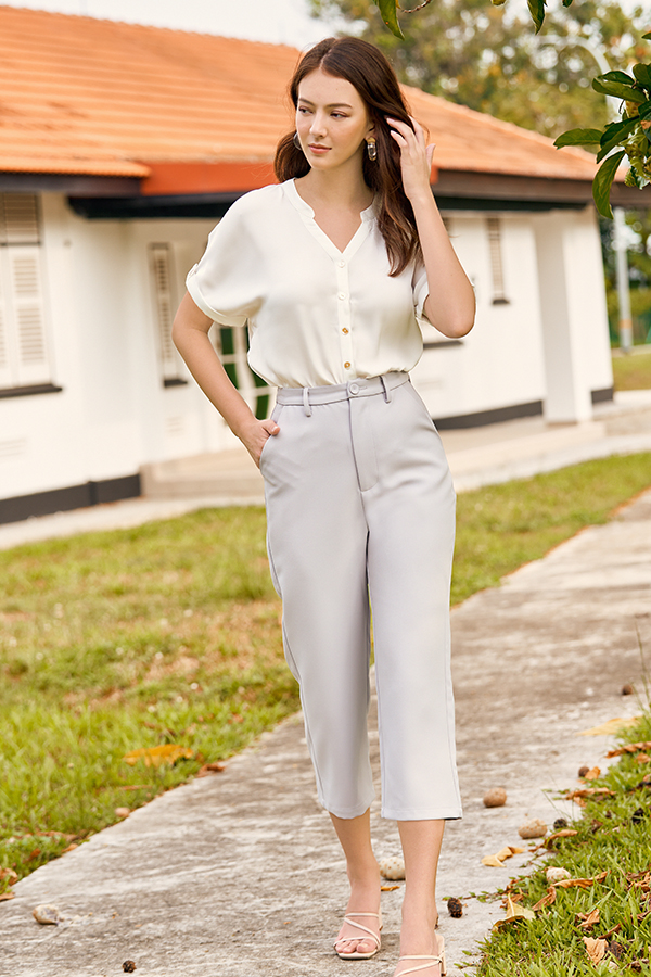 *Backorder* Linney Culottes in Ash Lilac
