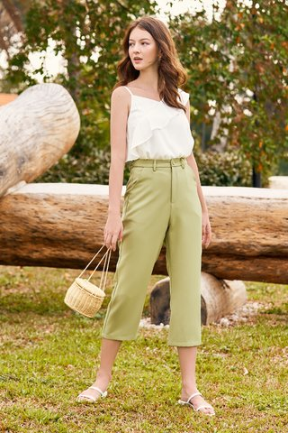 *Backorder* Linney Culottes in Pistachio