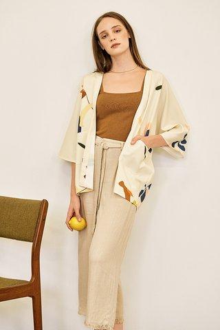 *Restock* Kolorit Kimono in Cream