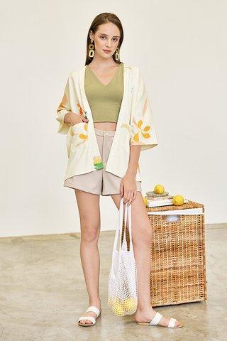 *Backorder* Kolorit Kimono in Ivory