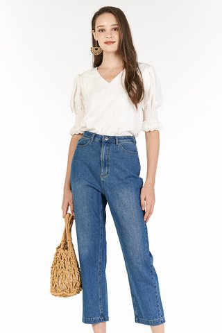 Ana Denim Pants in Dark Wash