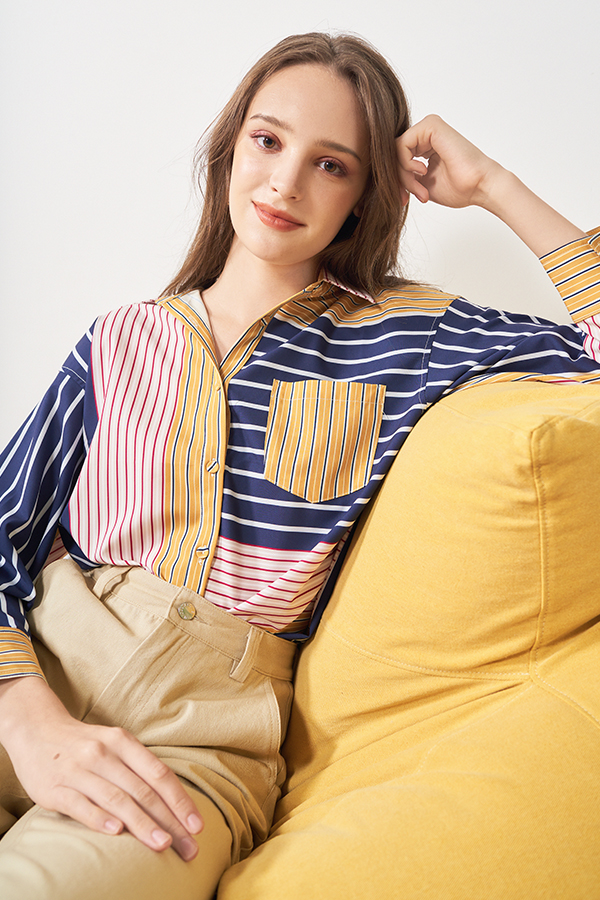 Melaine Stripes Shirt