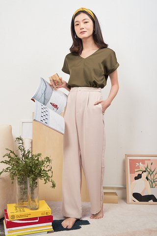 Natale Pants in Khaki