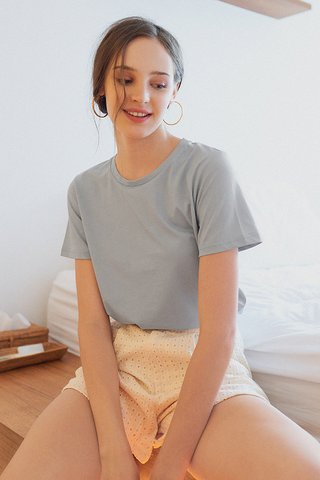 *Backorder* Andee Tee in Dusty Blue