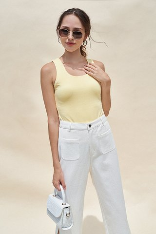 Cade Top in Golden Poppy