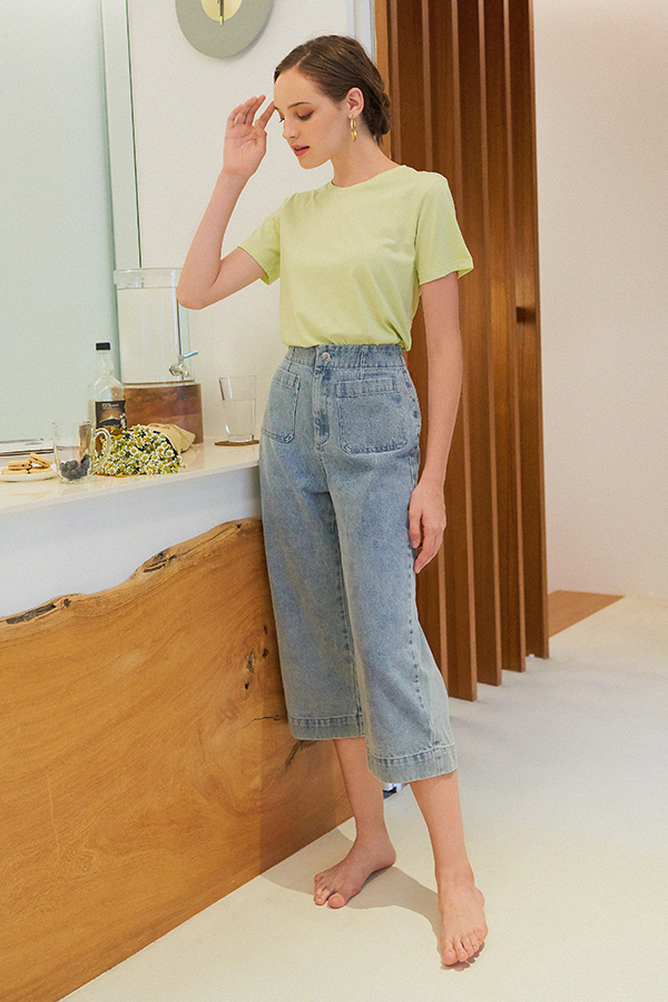 *Backorder* Brynn Denim Culottes