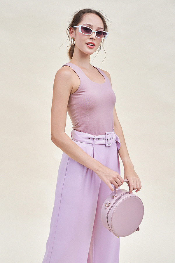 Cade Top in Mauve
