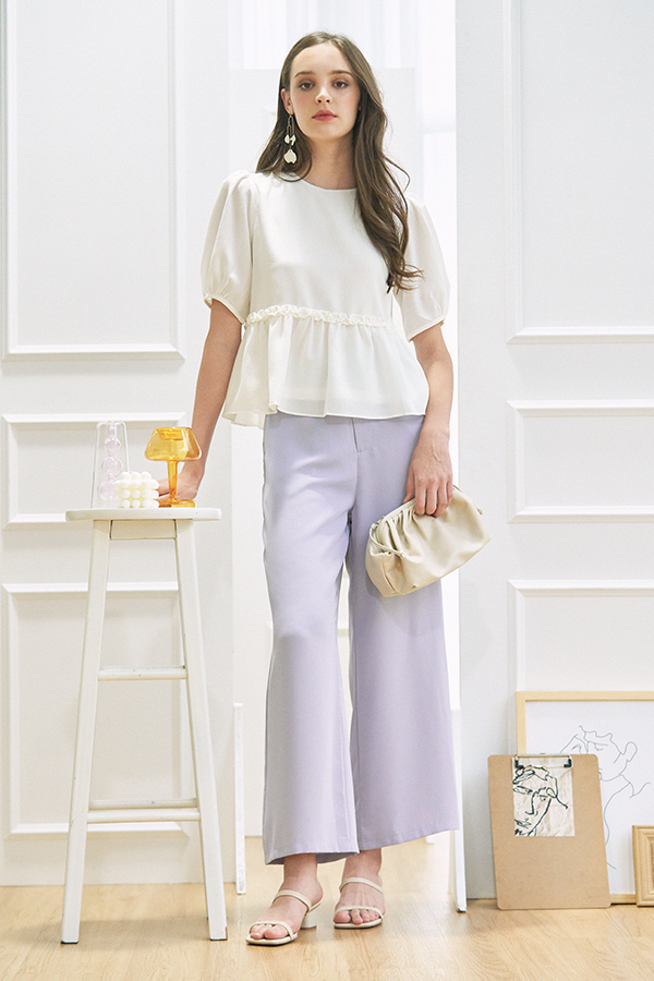 Calle Pants in Ash Lilac