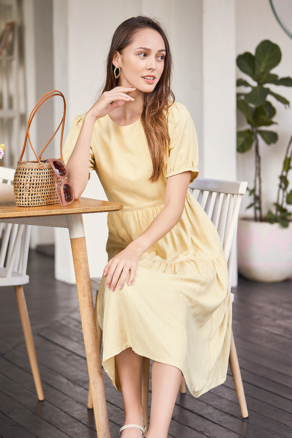 Fiore Midi Dress in Mellow