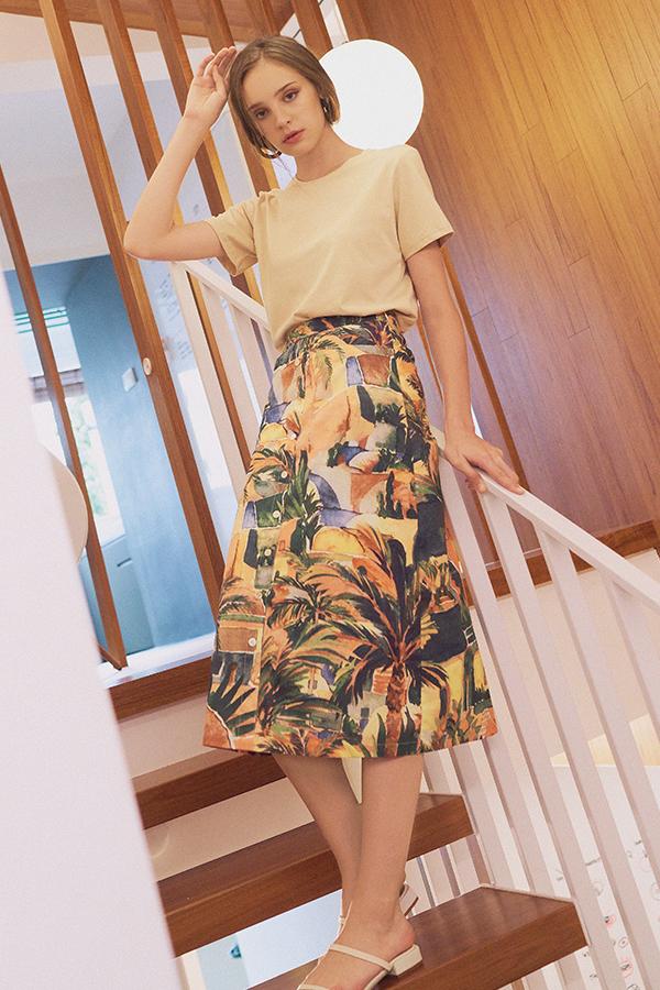 Halona Midi Skirt