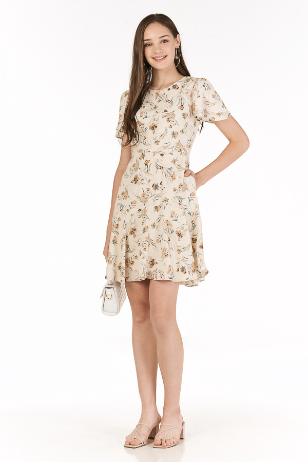 Laricia Dress in Cream