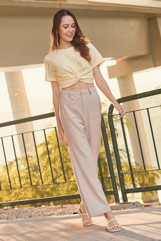 Campton Pants in Khaki