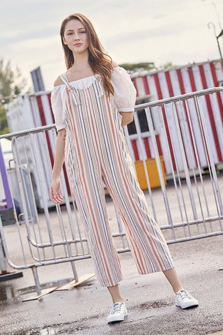 Edden Striped Jumpsuit