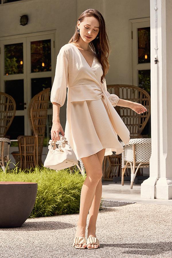 Cheney Dress in Cream