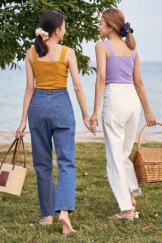 *Backorder* Brea Knitted Top in Lavender