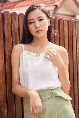 Lyanie Top in White